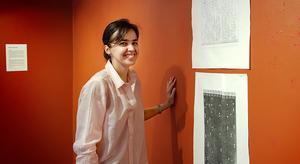 Konstnären Nadia Martinez är lärare på National Academy i New York.