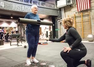 3D-träning observerar en persons mönster så den kan träna optimalt, vad det än må vara, även i rehabsyfte.