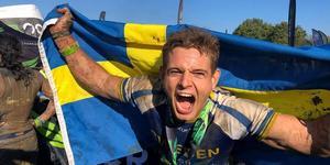 """Sebastian Nykvist är mer än nöjd med sin prestation i OCR-VM i London. """"Jag har presterat på max"""", säger han."""