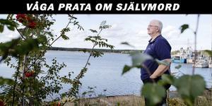 Ett av tillfällena Per-Olof Lundin tycker är jobbigast efter sonens självmord är när han ska titta på tv-serier med spänningsmoment och det plötsligt kan vara en scen med någon som tagit livet av sig. Då påminns han på ett bryskt sätt om sin sons öde.