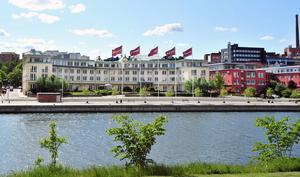 Astras gamla huvudkontor vid Snäckviken kan bli en ny hotell- och konferensanläggning.Arkivfoto: Christina Hjalmarsson