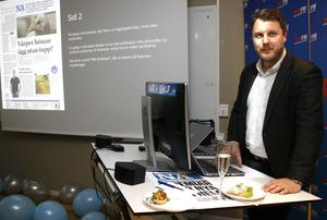Nicklas Pettersson på Rix FM.