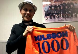 Jubilaren Patrik Nilsson är ett självklart namn i detta Veckans lag.