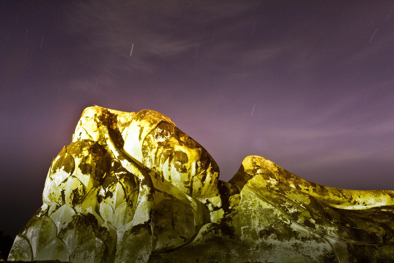 Himlen ovanför Ayutthaya, Thailand, 18 november 2009. Då kunde man se mer än tusen meteorer i timmen.Nov.