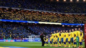 Det blir inga matcher på svensk mark under EM 2020. Bild: Marcus Ericsson/TT.