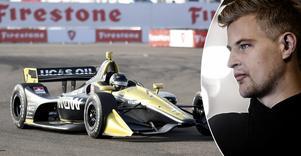 Marcus Ericsson hade ingen rolig helg i Long Beach, Kalifornien. Fick aldrig chansen att sätta ett varv kvalet, och följde upp med att orsaka en incident med stallkompisen Jack Harvey redan på första varvet i racet. Bild: TT