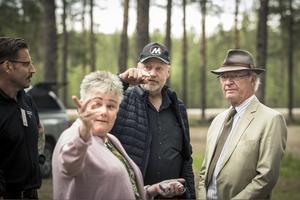 Markägarna Ingrid och Anders Jonsson förlorade all sin mark under skogsbränderna 2018.