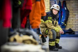 I mer än tio år har Annica Östberg gjort sitt för att göra samhället säkrare. Till vardags är hon anställd som fastighetsskötare av Norrsvedja Fastigheter AB.