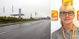 Ingo har köpt en tomt vid Södra brofästet och kommer att bygga en ny bensinmack där.