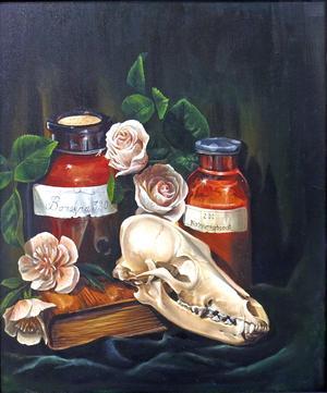 """""""Borsyra"""" av Anna Damm."""