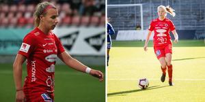 Jenna Hellstrom och Elin Rombing. Foto: Olle Mellström och Kicki Nilsson/TT