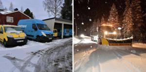 500 helt nya Renault Kangoo köpte Postnord in – nu tvingas flera av dem flyttas från region nord till södra Sverige då de inte klarar av snön.