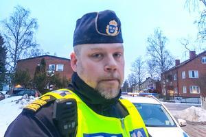 Hans Ängquist, kommissarie Östersundspolisen.
