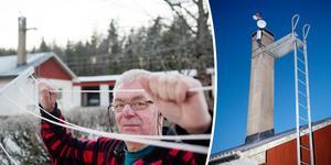 I Ytterbyn och Överbyn, där Gunnar Lundqvist bor, har 65 hushåll gått ihop och valt luftburet bredband via radiomaster, i stället för mer vanliga lösningar som fiber och 4G.