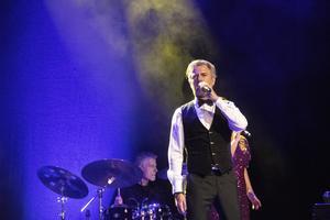 Jakob Stadell  sjöng bland annat en låt från musikalen Rent.