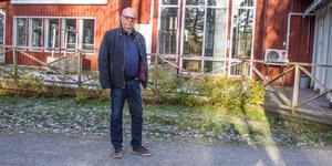 Kenneth Gustavsson från PRO Ranstaorten är besviken över att de inte får ha vattengymnastik i Sätra Brunn längre.
