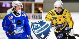 Att Vänersborg värvade Jesper Öhrlund (till höger) blev avgörande för att lillebror Robin skulle stanna i klubben. Bild: Oliver Åbonde / Andreas Tagg