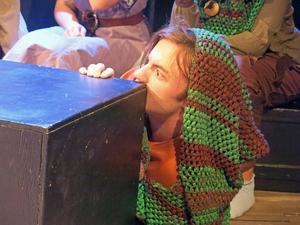 Robert Persson som Robin Hood.