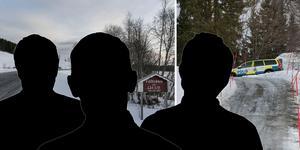 Tre män har häktats för inblandning i stöldhärvan som nystades upp efter explosionen i Laxsjö. Fotomontage: Johan Axelsson/Genrebilder