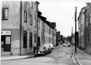 50-talet. Korsningen Ängsgatan-Malmabergsgatan. Arkivfoto: VLT