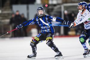 Victor Lundberg vikarierade som lagkapten i Sirius. Han bommade ett lyft i början av matchen mot Bollnäs – men satte en straff i andra halvlek.