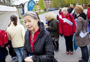 Journalisten och författaren Åsa Moberg talade om vikten av att ta de