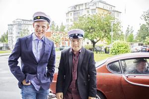 Tobias Olsson och Jack Medin.