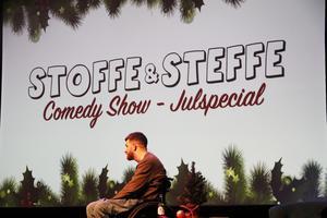 För andra gången körde Stoffe och Steffe ståuppshow i Sandviken.