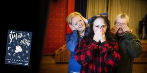 Nu är det dags för det tjugonionde året på filmfestivalen i Tännäs. Här är en bild från förra året på Annelie Rahmqvist, Hertha Gunvorsdotter Höglund och Lotta Larsson i filmgruppen i Tännäs. Affisch: Katla Lund