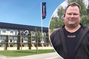 – Det måste ju finnas hyresrätter i hela kommunen, inte bara i Norrtälje stad. Vi har en vision om att bygga ytterligare 32 hyresrätter i Hallstavik, men det är än så länge bara skisser. Vi hoppas få köpa mark av kommunen, säger Erik Andersson på Thelandersson bygg som nyligen färdigställt 16 hyresrätter på Börjevägen i Hallstavik.