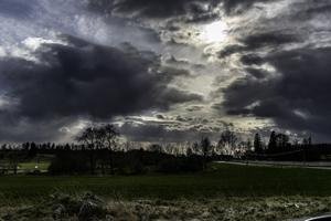 Aprilväder. Foto: Runar Larsson