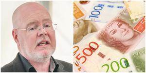 """""""Skatten är ingen väg ut"""", sade Bob Wållberg under budgetdebatten."""