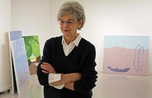Bia Hellström visar sin nya utställning