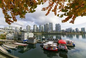 Jaye är uppvuxen i Vancouver. Paret flyttade dit tillsammans 1990.  Foto: Privat