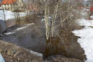 Översvämning i Bergsåker.