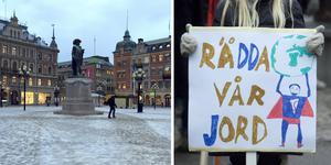 Elever i Sundsvall ska samlas på Stora torget.