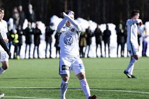 Vilhjálmsson behövde en dryg minut på plan innan han gjorde mål.