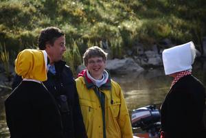 Nils och Vigdis Melander kom från Norge för att få en tur med Vevkulla innan säsongen nu är över. Foto:Annki Hällberg