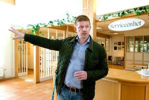 Joakim Persson räknar med att både Åfa och Ånge Energi kommer fortsätta leverera resultat av miljonstorlek.Foto: Mårten Englin