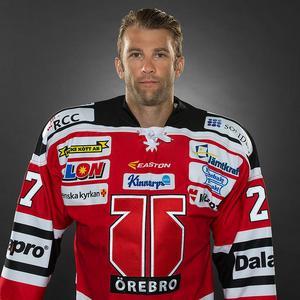 Hockeyspelaren Emil Kåberg. Foto: Stig Kenne/TT
