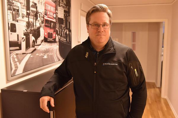 Henrik Olsson, delägare Kringdata, berättar att man kunde följa bilen i realtid via deras spårningssystem.