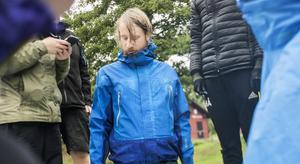 Nils Melin från Uppsala hittade bland annat en stavliknande vattenskorpion i Norrtäljeån.