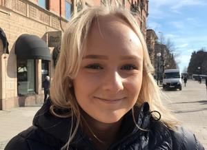 Maja Norberg, 17 år, studerande, Härnösand