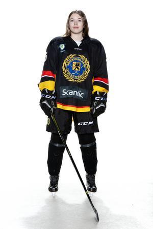 Foto: Lars-Åke Johansson/Södermanlands  Ishockeyförbund. Filippa Högman.