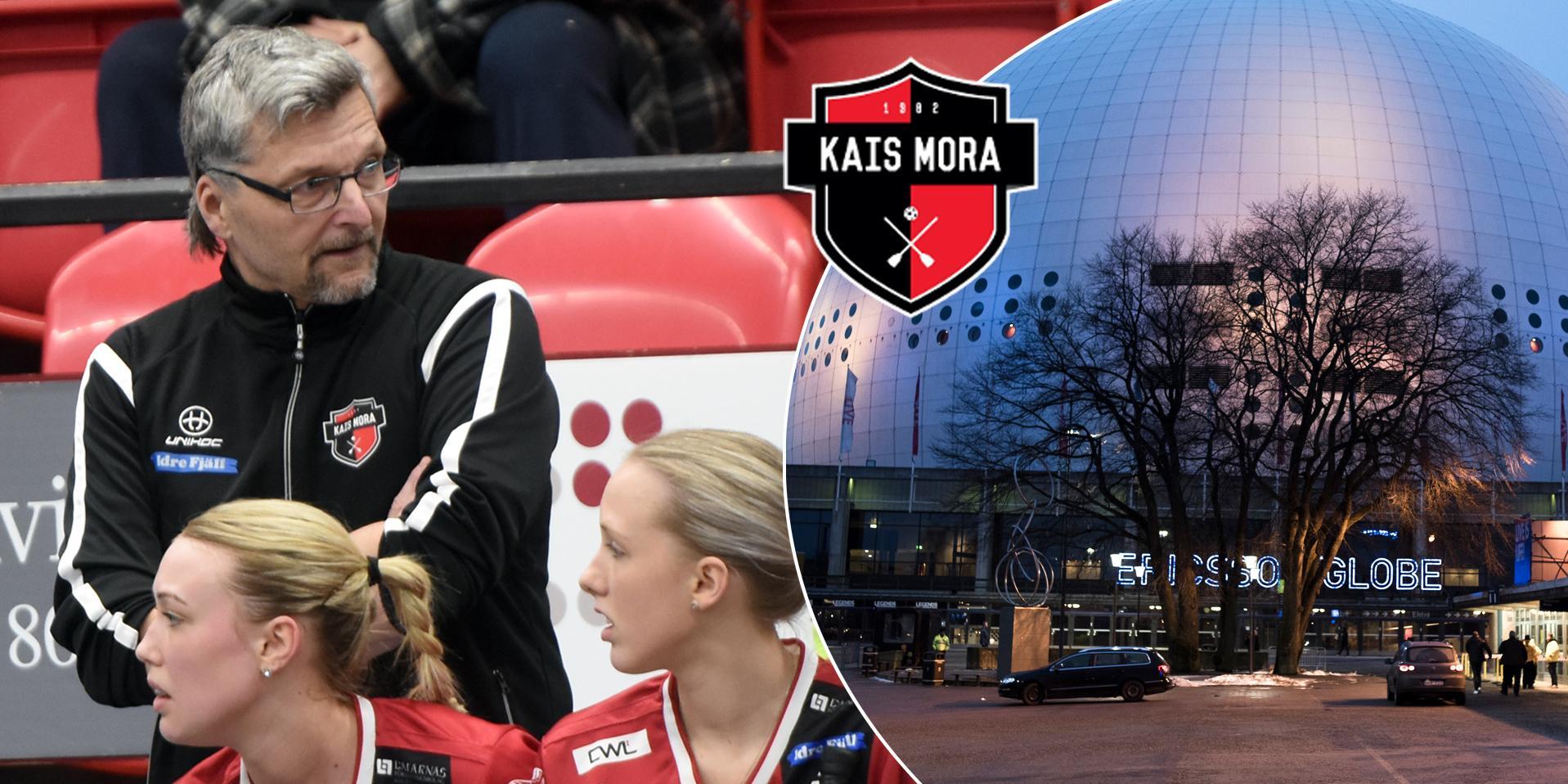 Ulf Hallstensson ska försöka leda Kais Mora till SM–guld i Globen på lördag. Foto: Rickard Pettersson / Bildbyrån. Bilden är ett montage.