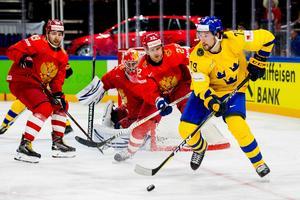 Filip Forsberg kämpade för att komma in i matchen mot Ryssland.Foto: Ludvig Thunman / Bildbyrån