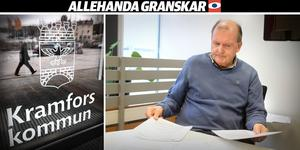 Bertil Wiklund, kommunrevisor i Kramfors ser allvarligt på att Kramfors kommun inte verkar ha haft kontroll över antalet fakturerade timmar eller vad de har använts till.