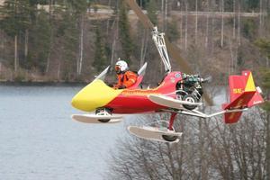 Stephan köpte sin gyrokopter för cirka fyra år sedan. Foto: Privat