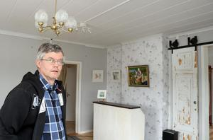 Det gamla vardagsrummet har fått ett nytt uppdrag som konsthall.