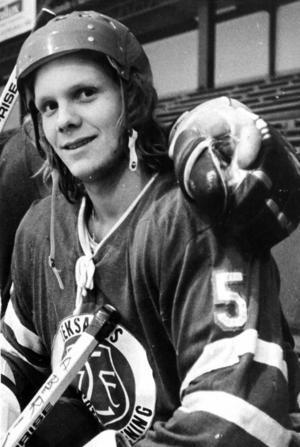 Jan-Ove Wiberg gjorde fyra säsonger för Leksands IF på 1970-talet. Foto: DD:s bildarkiv